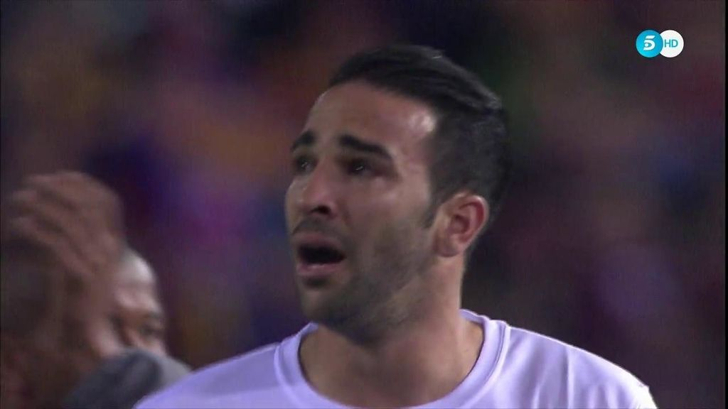 Las lágrimas de Iborra y Rami después de perder  la final por 2-0 ante el Barça