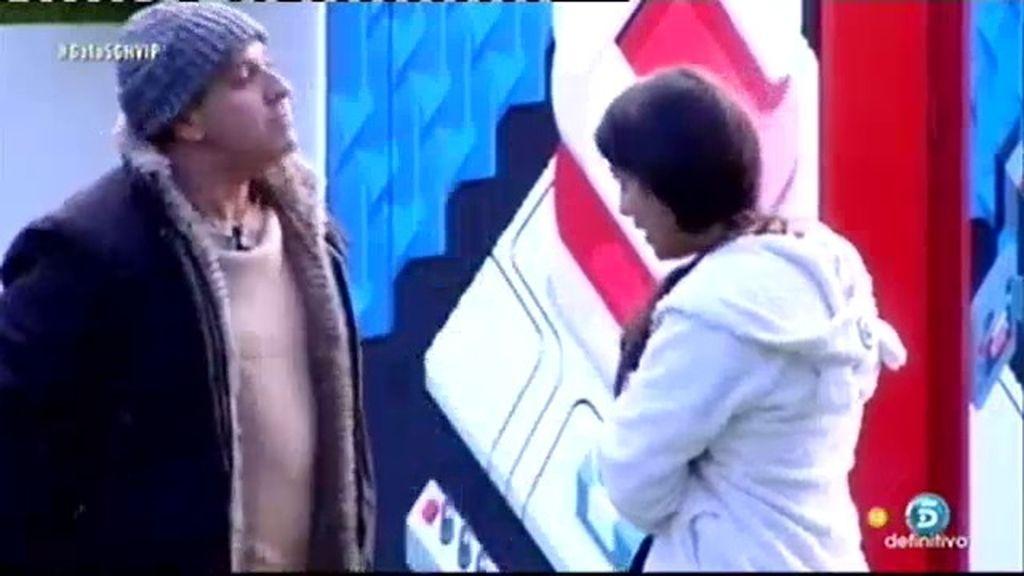 """Víctor, a Ares: """"Mientes tanto que no recuerdas lo que dices, eres una lianta"""""""