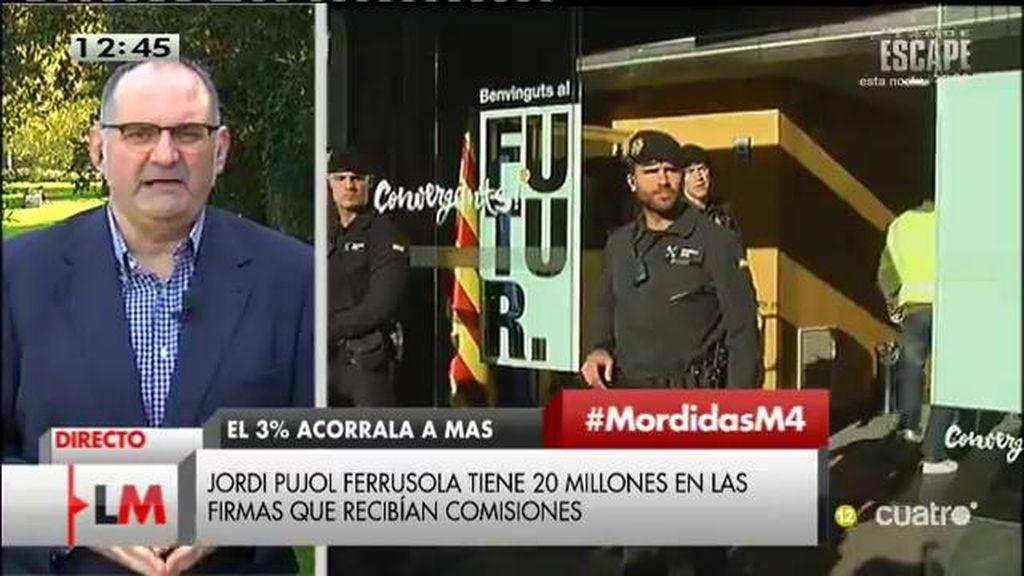 """A. Losada: """"No hay hecho diferencial, parece que la derecha, cuando se corrompe, se corrompe igual en Cataluña y en España"""""""