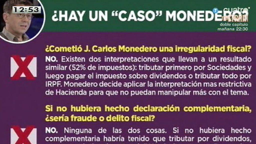 Podemos responde a los ataques contra Juan Carlos Monedero