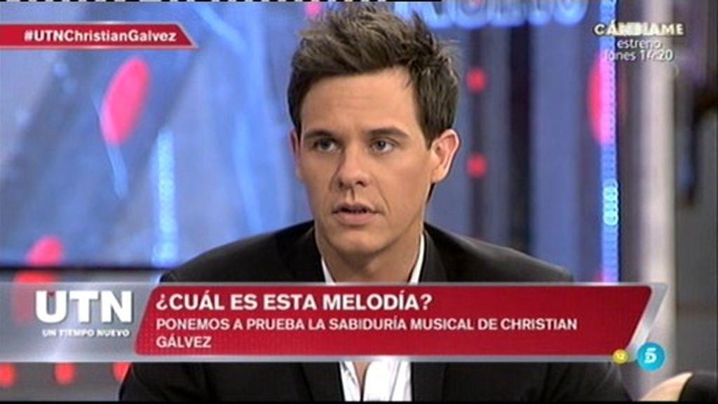 "'UTN' pone a prueba a Christian Gálvez con la popular prueba de ""pista musical"""