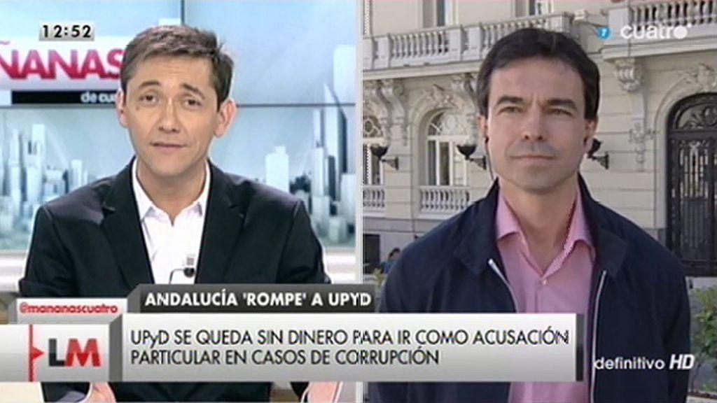"""A. Herzog: """"Tenemos un presupuesto para este duro año electoral y se ve trastocado por los malos resultados en Andalucía"""""""
