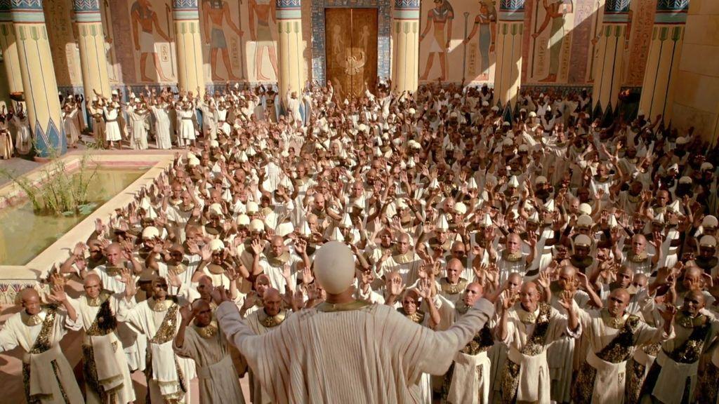 Amón pide a sus súbditos que asesinen a Tutankamón