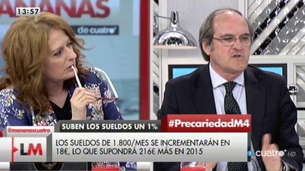 """Ángel Gabilondo: """"No hago acuerdos con siglas y partidos, sino con lo que tiene que ver con nuestro programa"""""""