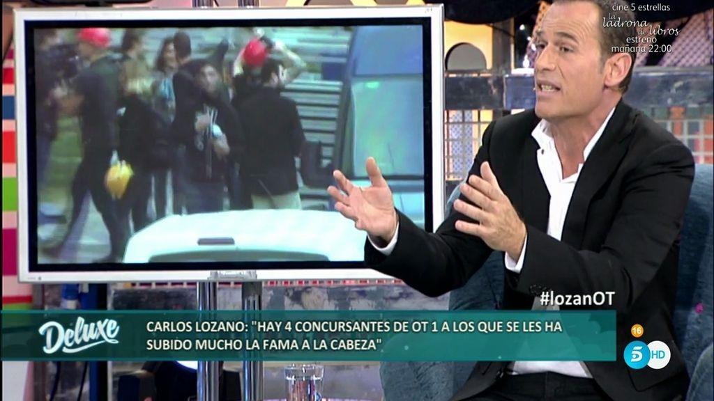 """Carlos Lozano: """"Hay cuatro concursantes a los que se le subió la fama a la cabeza"""""""