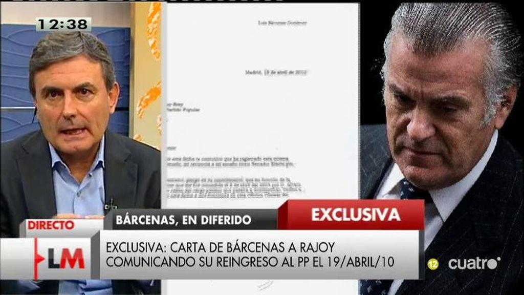 """Pedro Saura: """"Rajoy compró el silencio de Bárcenas y mintió en el Parlamento"""""""