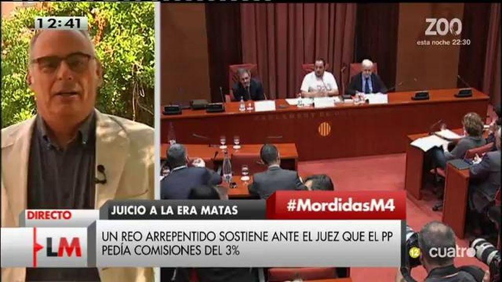 """Jaume Reixach: """"En el caso de Cataluña, hemos padecido durante 30 años el asalto de una banda organizada de corrupción"""""""