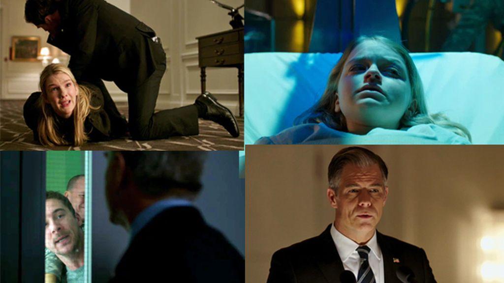 Wes intenta rescatar a su hija mientras Drill intenta contactar con los suyos