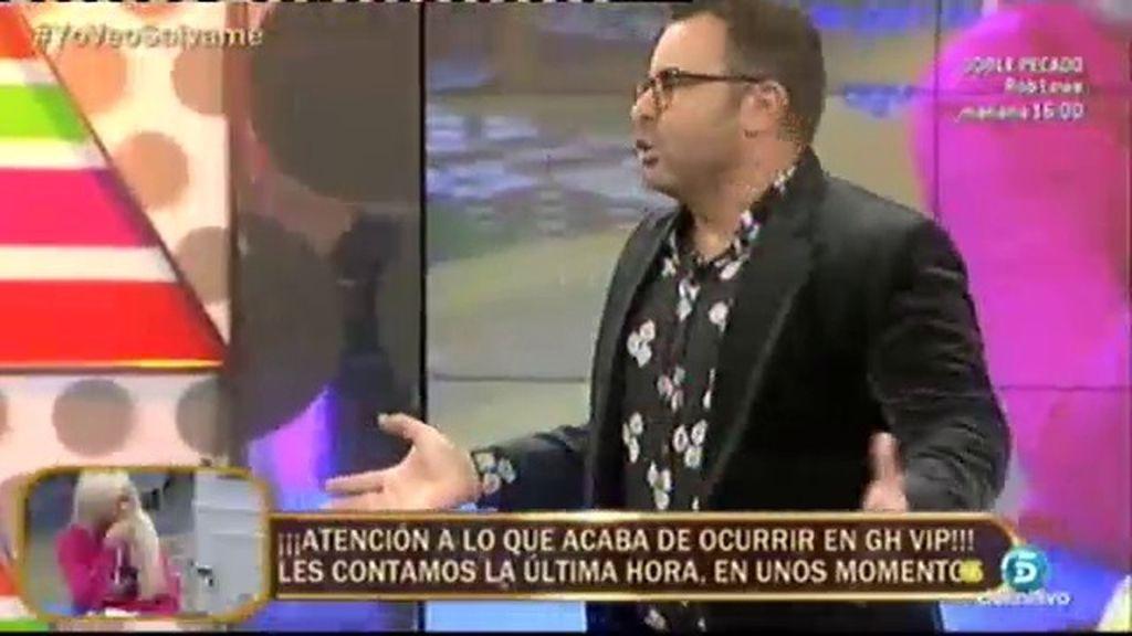 """J.J. Vázquez: """"El 'Deluxe' no puede ser una plataforma para subir a Belén a los altares"""""""