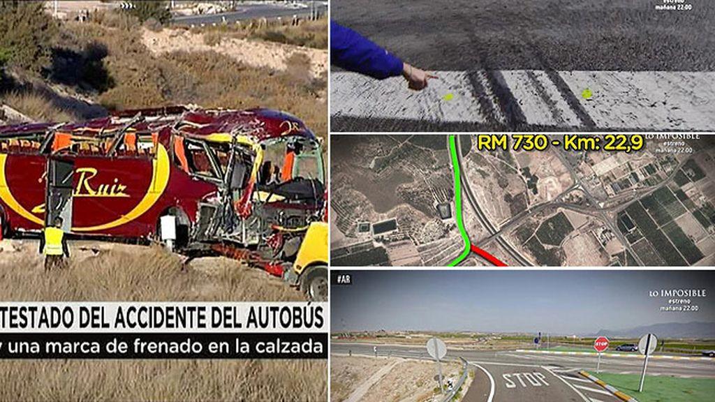 'AR' tiene acceso en exclusiva al atestado del accidente de autobús de Cieza