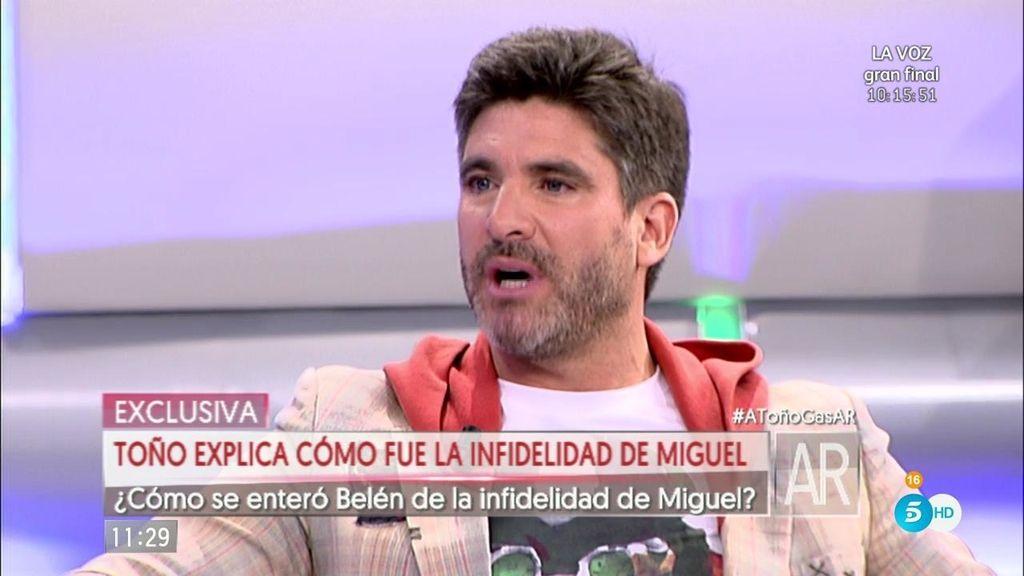 """Toño Sanchís: """"Miguel acabará siendo otra víctima de Belén Esteban"""""""