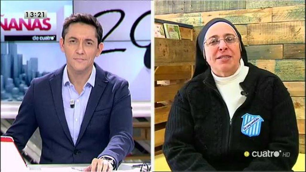 """Sor Lucía Caram, a los políticos: """"Que se dejen de tanta imagen y que se ocupen de los problemas"""""""