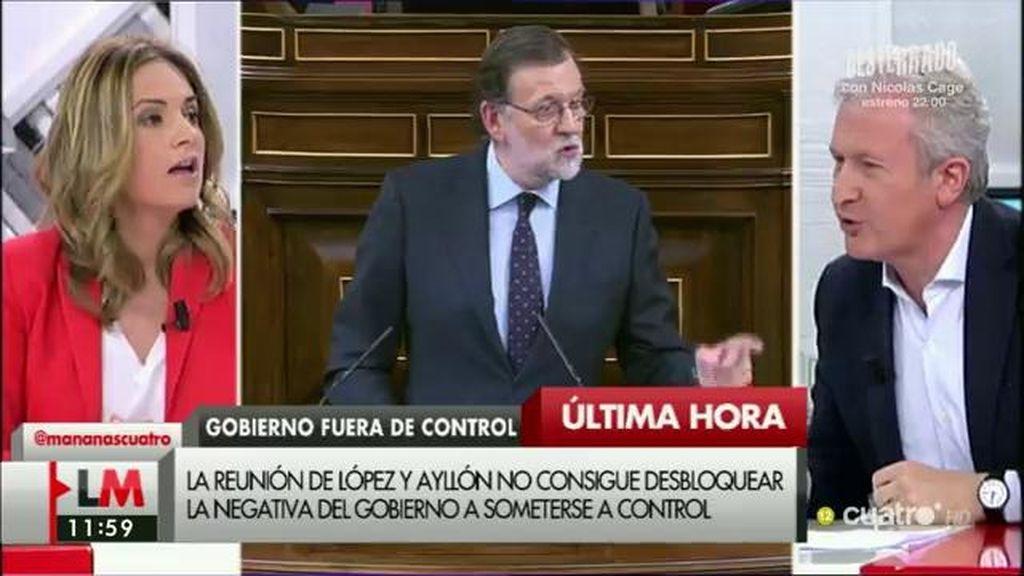 """Emilio del Río (PP), a S. Sumelzo (PSOE): """"Es insólito que en Andalucía durante 81 días no se haya comparecido en el parlamento"""""""