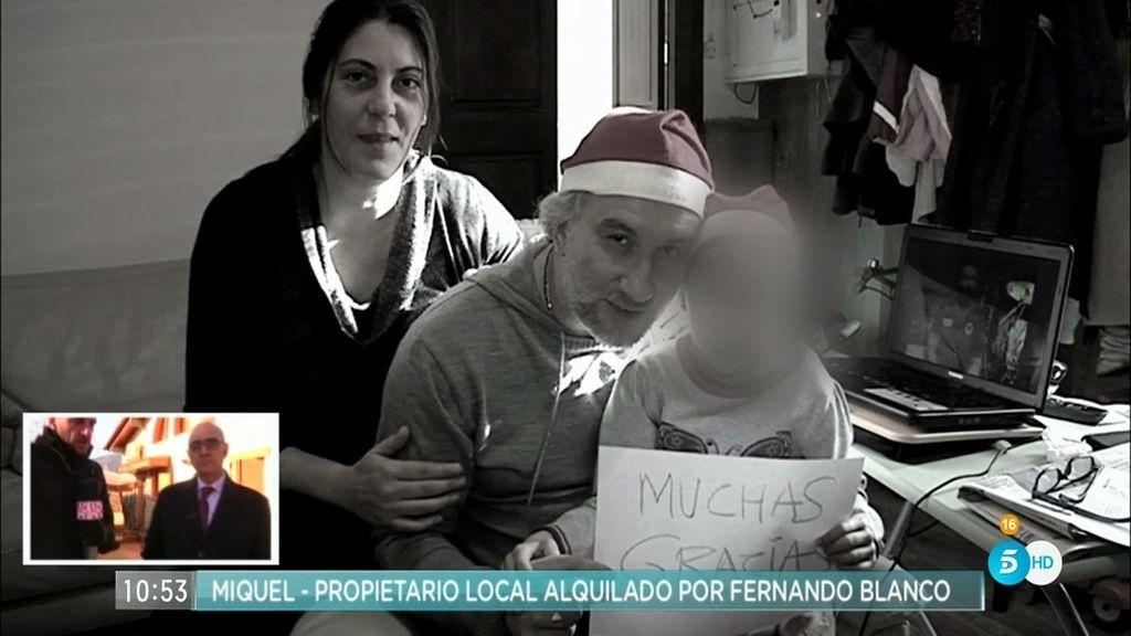 'AR' habla con el propietario de un local alquilado por el padre de Nadia