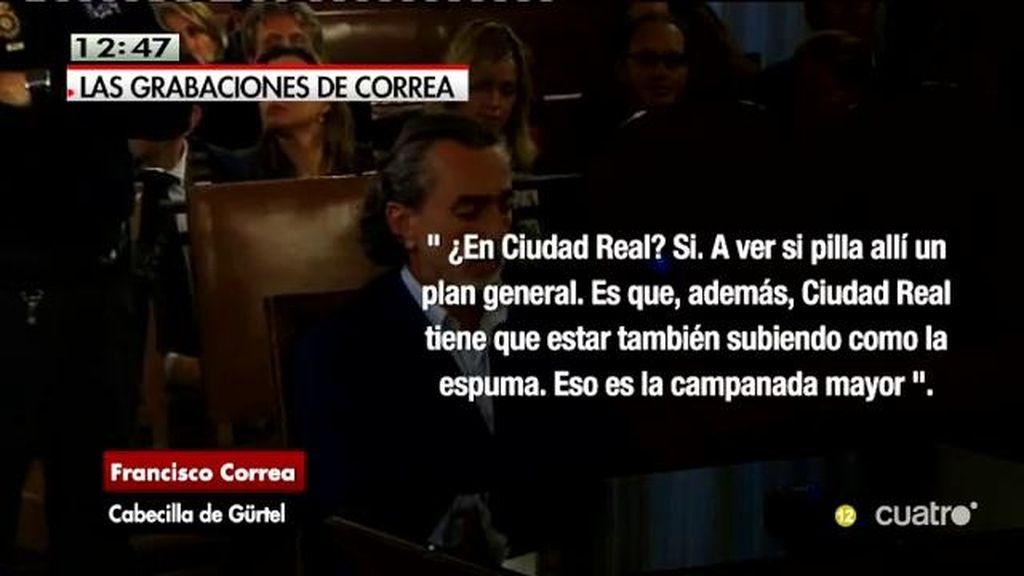 """Francisco Correa: """"Das una vuelta antes de entrar y mira bien ¿Eh?"""""""
