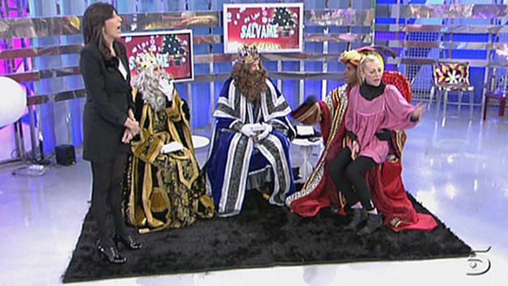 Los Reyes Magos llegan a Sálvame