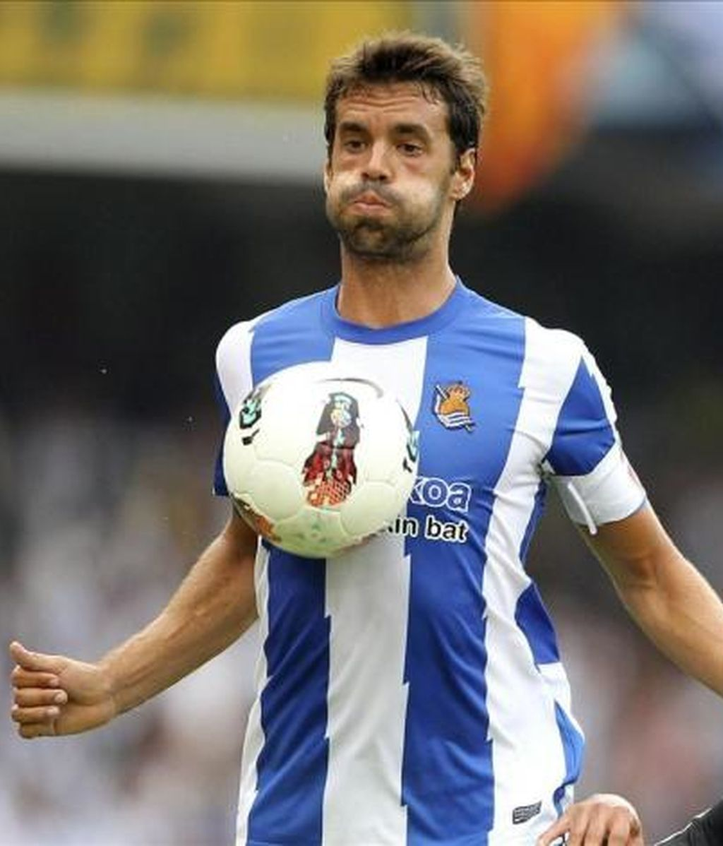 Xabi Prieto, jugador de la Real Sociedad
