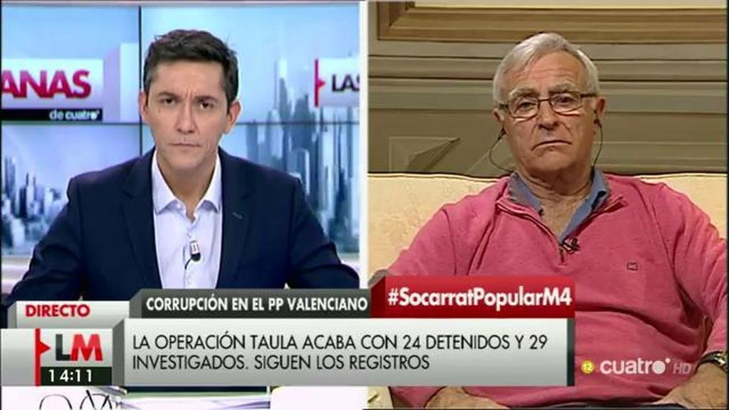 La entrevista de Joan Ribó, a la carta