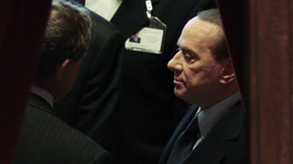 Imagen de archivo del primer ministro italiano, Silvio Berlusconi. Foto: Gtres.