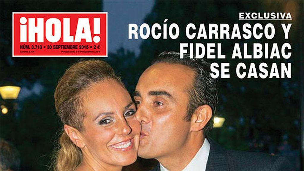 ¡Rocío Carrasco y Fidel Albiac se casan!