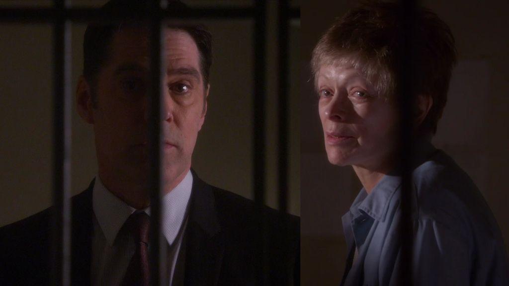 """La convicta, a Hotch: """"Se avecina una tormenta que está a punto de barrerte"""""""