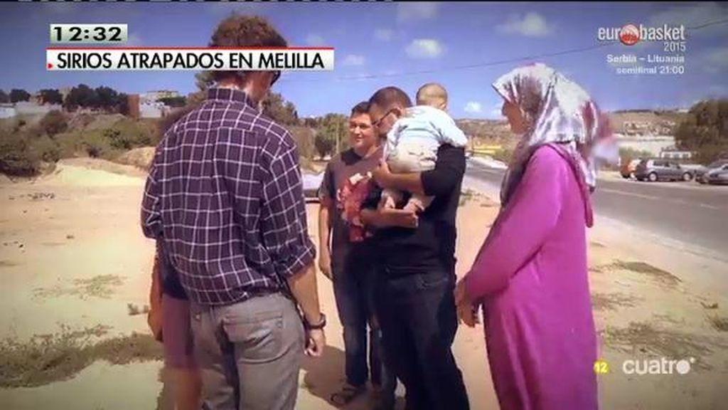 Se estima que al menos seis menores llegan a diario a Melilla sin sus padres