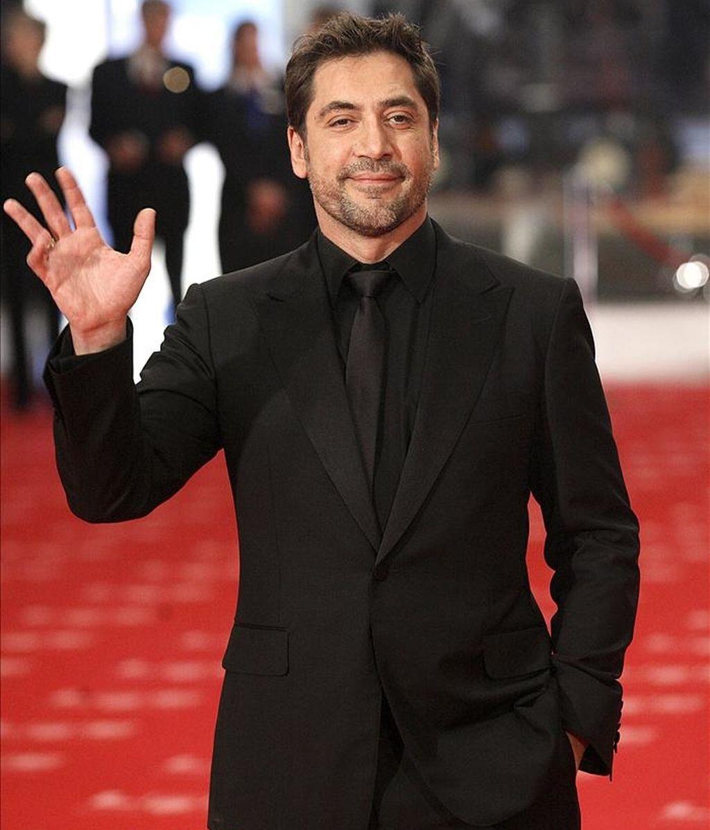 El actor Javier Bardem. EFE/Archivo