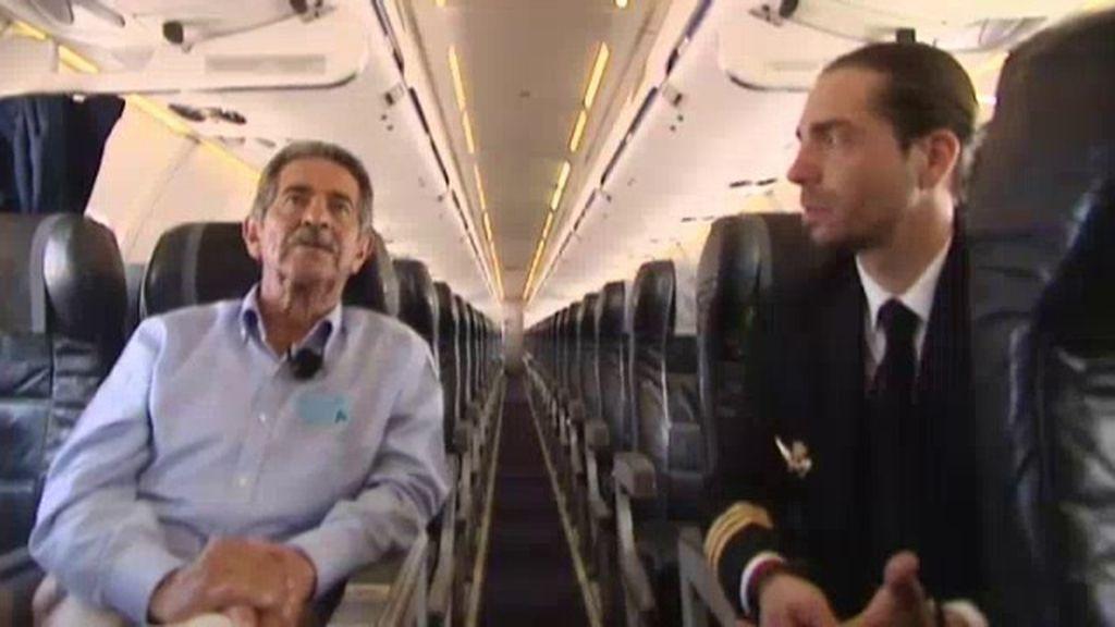 Luis Berasategui se hizo pilto de 'Aviación sin Fronteras' para acompañar a niños enfermos