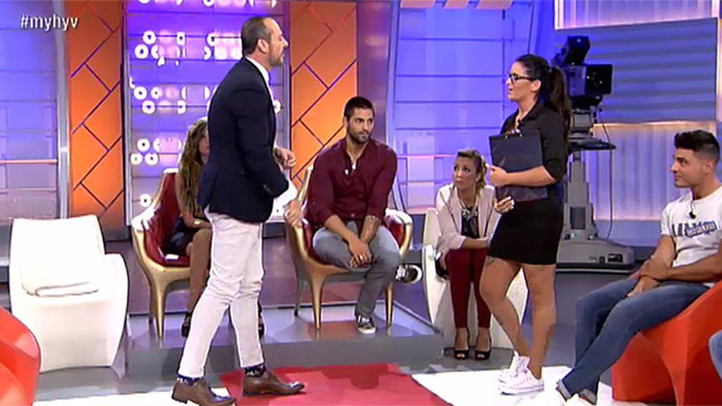 "Nacho, sobre Raquel: ""Se te ha ido la pinza"""