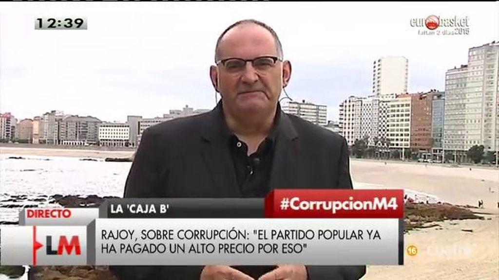 """A. Losada, de las palabras de Rajoy: """"Parece la confesión de un corrupto anónimo"""""""