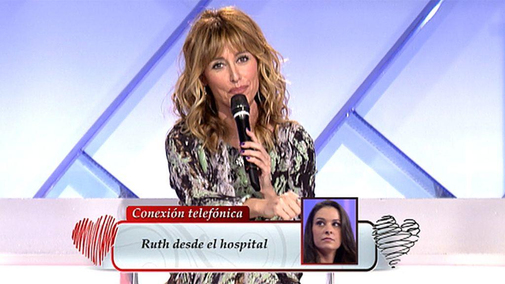 """Ruth, desde el hospital: """"Esperadme para la final de Patricia, por favor"""""""