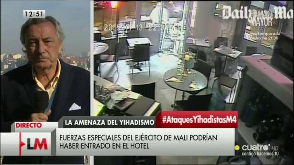 """J. Dezcallar, sobre el terrorismo: """"Estoy convencido de que hay que ir con armas, pero no son suficientes"""""""