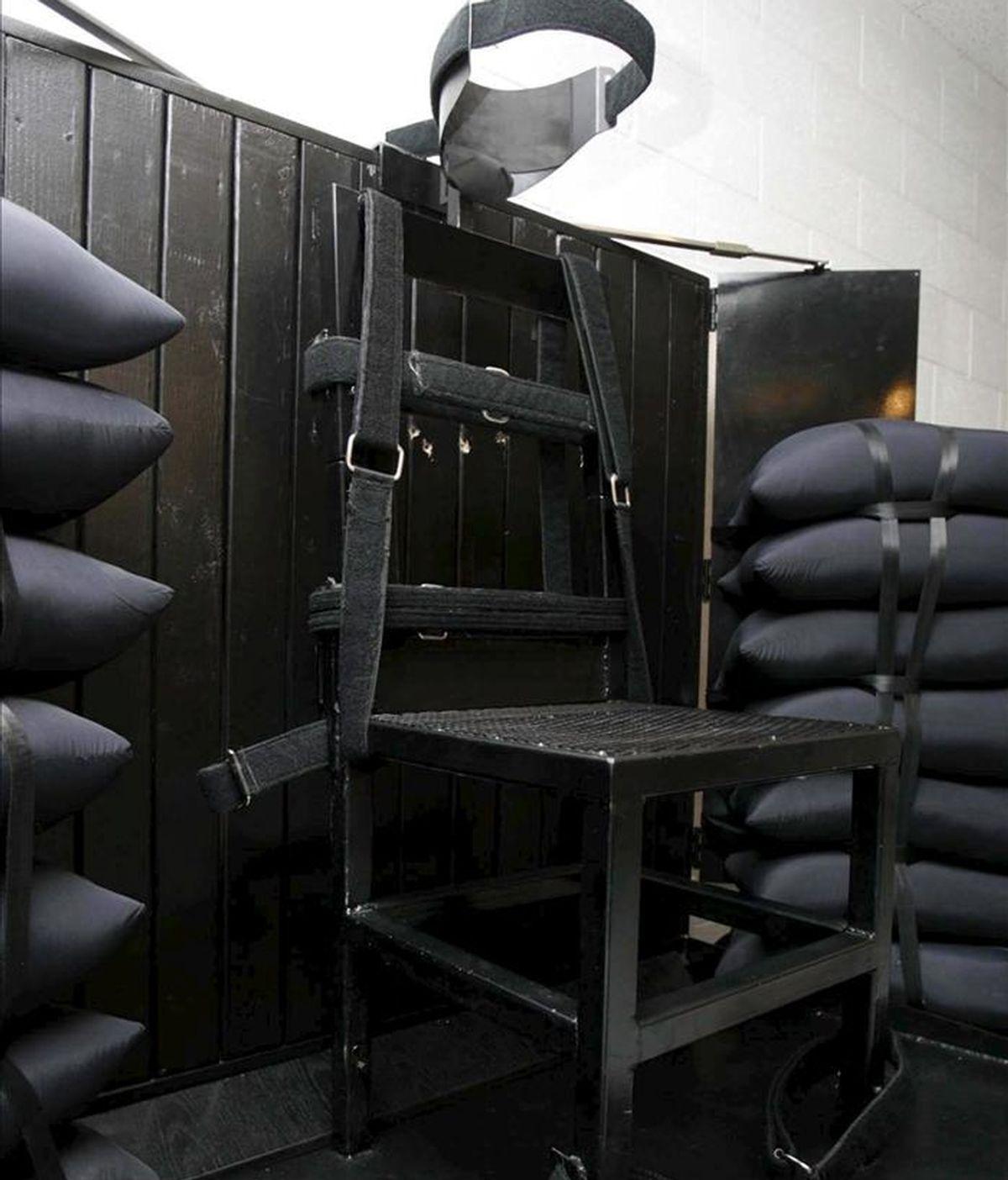 Imagen de la cámara de ejecución de la prisión estatal de Utah en las afueras de Salt Lake City, Utah. EFE/Archivo