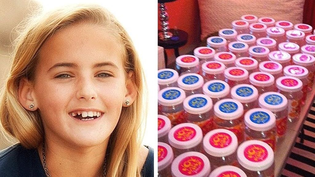 Un tumor cerebral acabó con la vida de Jessica Roy Rees de doce años