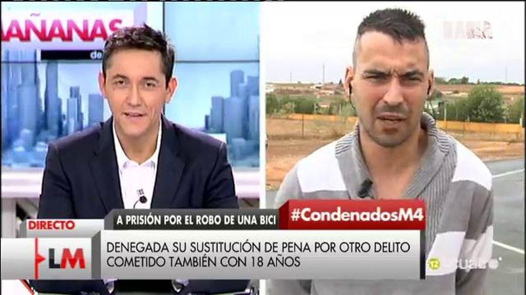"""Adrián irá a la cárcel por robar una bici cuando tenía 18 años: """"Lo veo abusivo"""""""