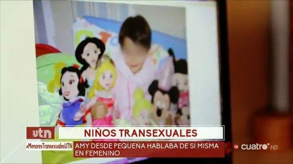 Niños transexuales: Óscar hablaba siempre de sí mismo en femenino