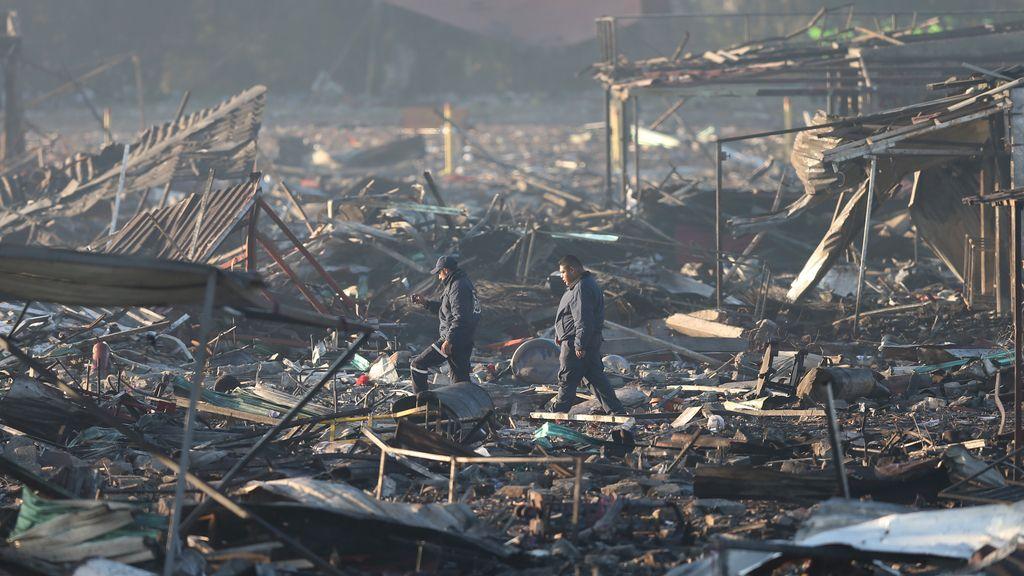 Explosión pirotécnica en México