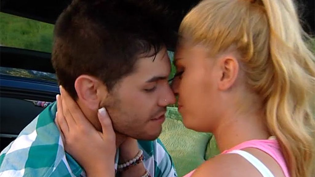 Un beso tierno y cariñoso