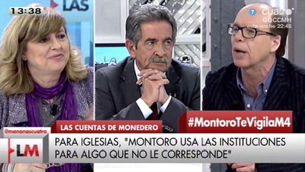 "J. González, a Rosa Mª Artal: ""No me puedes dar clases de decencia"""