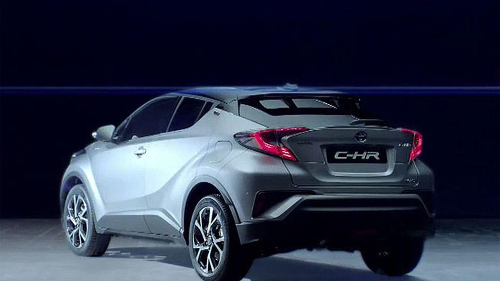 Toyota presentó el C-HR en Ginebra