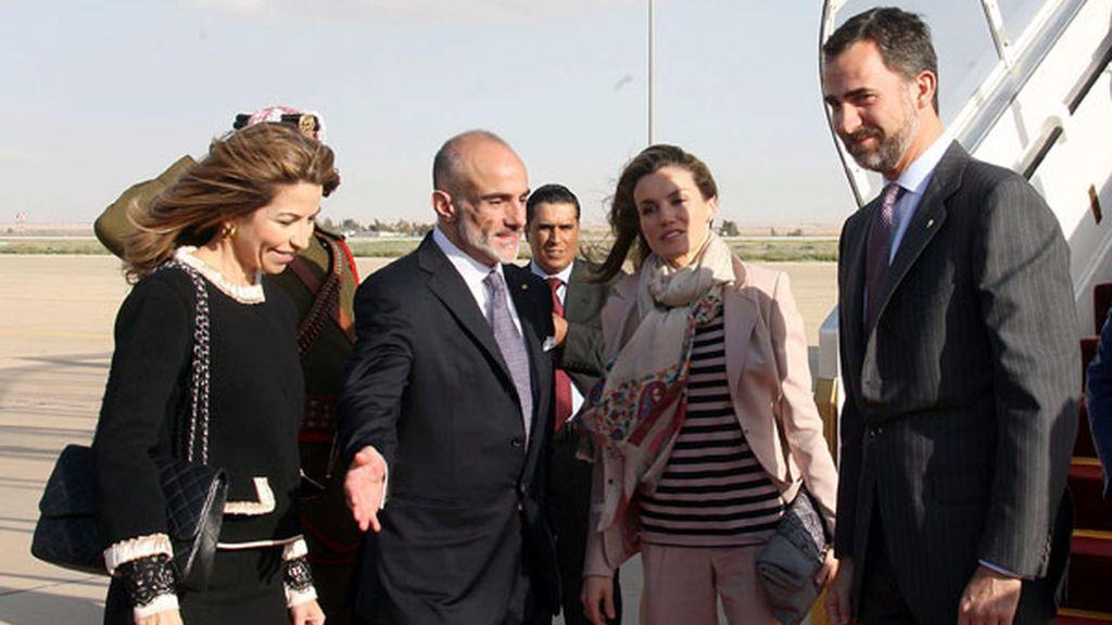 Los príncipes, en Jordania