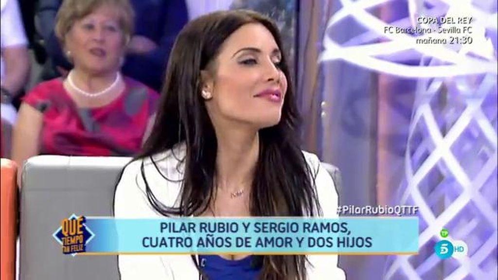 Pilar Rubio desmiente los rumores que corrieron cuando se quedó embarazada