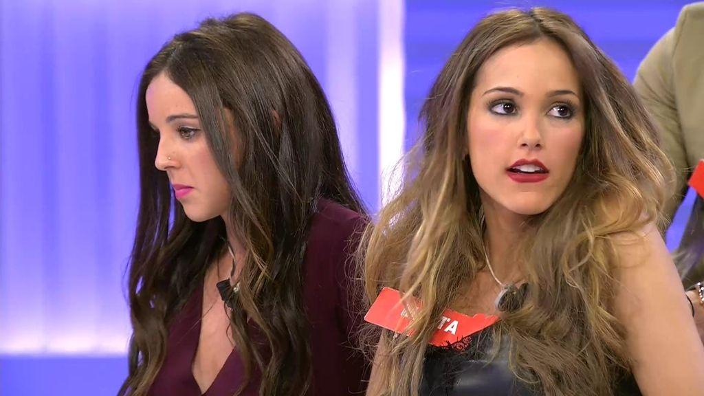 Silvia y Marta, preocupadas por el posible abandono del trono