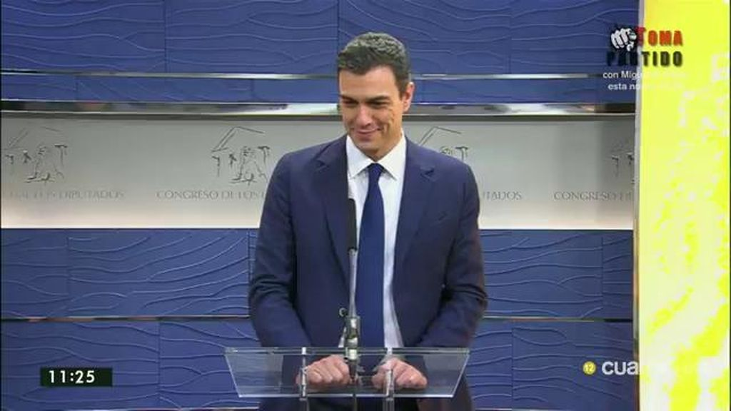 """Sánchez: """"Si esas son las peticiones que tiene Ciudadanos, habrá acuerdo"""""""