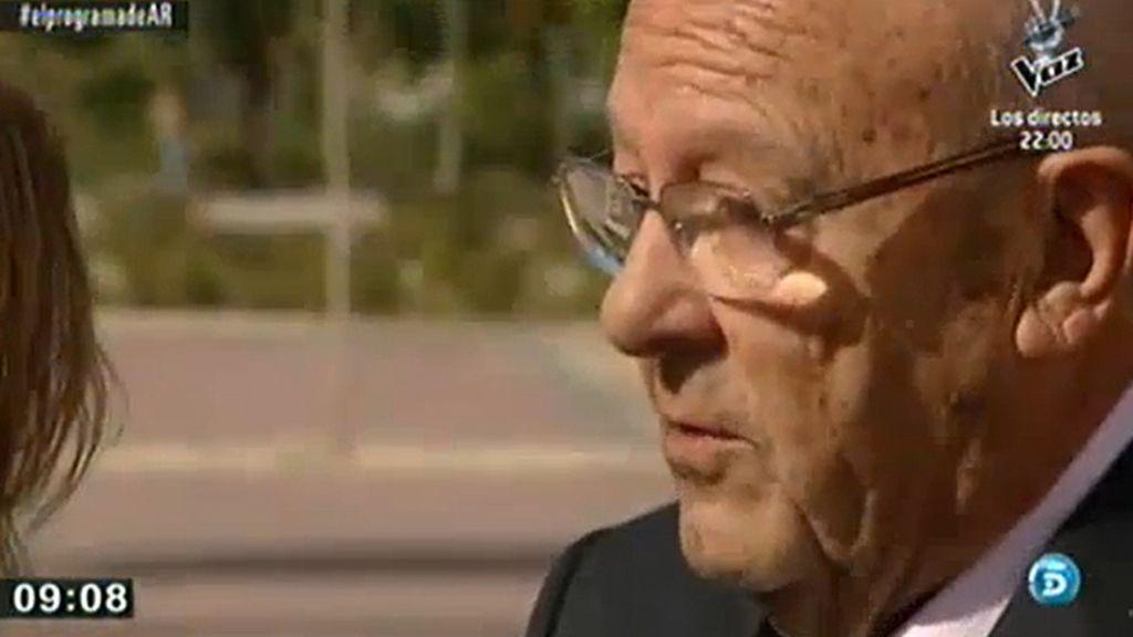 Simón Viñals, médico del Madrid Arena