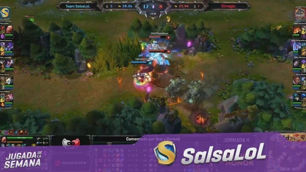 Team SalsaLoL deslumbra con una jugada digna de ser la mejor de la jornada
