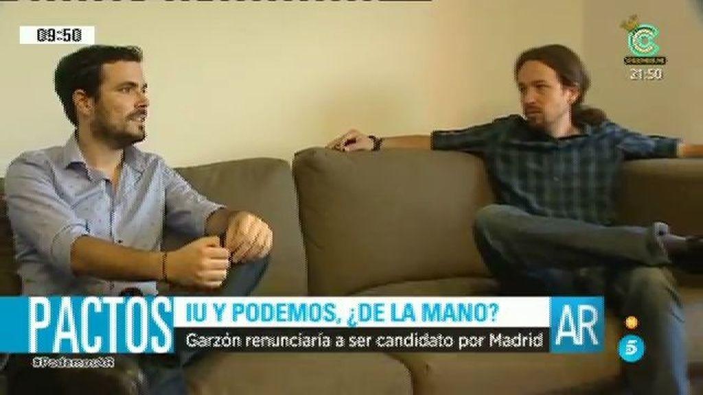 Garzón deja abierta la posibilidad de no presentarse a las generales por Madrid