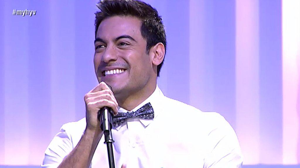 Carlos Rivera 'fascina' al plató de 'Myh'