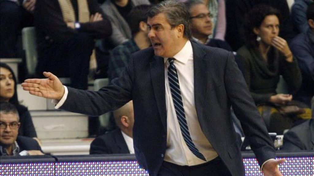Óscar Quintana, entrenador del UCAM Murcia