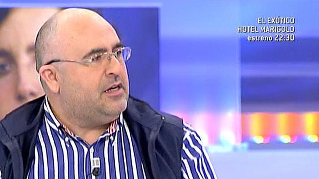 """Rodríguez Vidal, exinformador del CNI: """"Es imposible que nadie tenga informes porque  van para arriba no para abajo"""""""